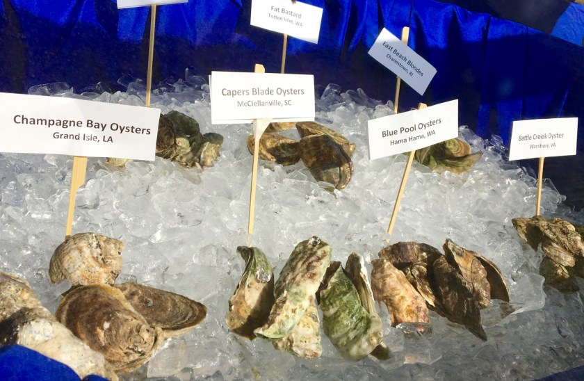 A few of the North American Oyster Showcase participants