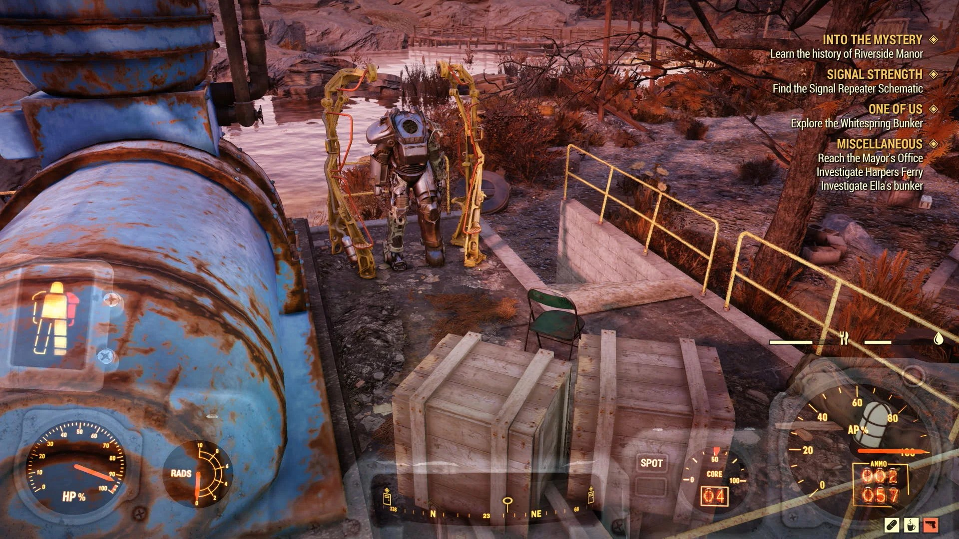 Power Armor Locations And Map Fallout 76 Wiki Guide IGN