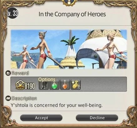 In The Company Of Heroes Final Fantasy XIV A Realm