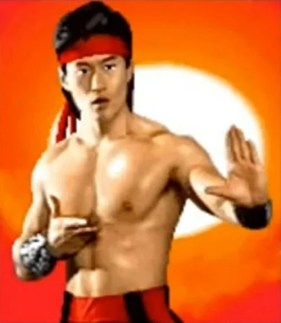 Image result for liu kang mortal kombat 2