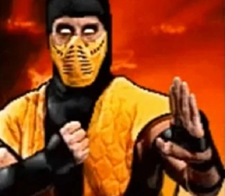 Image result for SCORPION MORTAL KOMBAT 2
