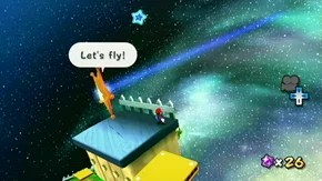 Sky Station Galaxy - Green Stars - Super Mario Galaxy 2 ...