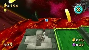 Bowser's Lava Lair - Green Stars - Super Mario Galaxy 2 ...