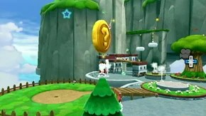 Fluffy Bluff Galaxy - Green Stars - Super Mario Galaxy 2 ...
