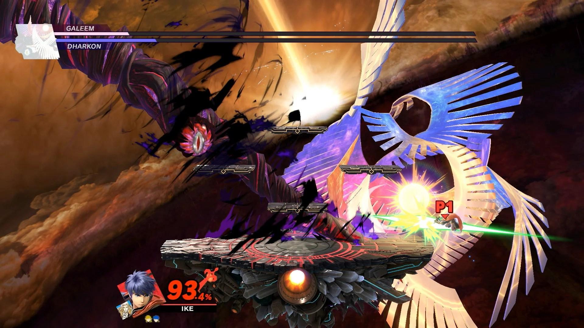 Galeem And Dharkon Boss Fight Super Smash Bros Ultimate