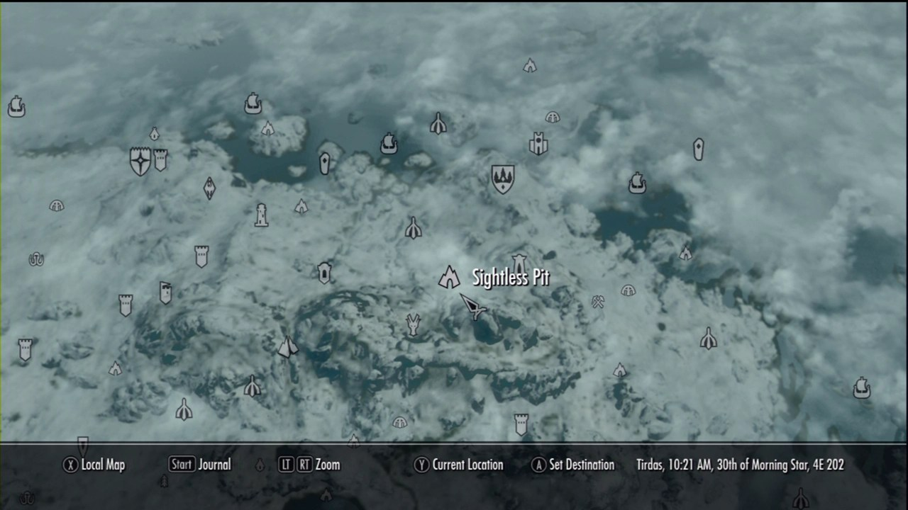 Sightless Pit The Elder Scrolls V Skyrim Wiki Guide IGN