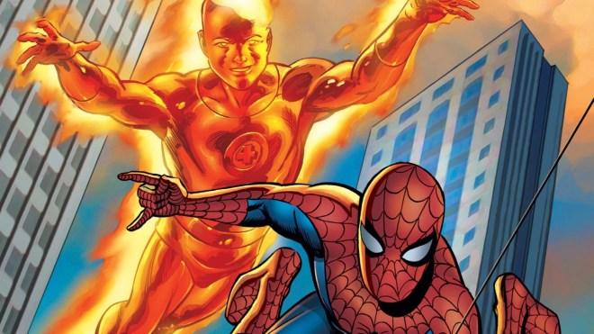 07-Spider-Man-Human-Torch The 25 Greatest Spider-Man Stories   IGN