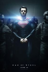 Poster for 2013 superhero reboot Man of Steel