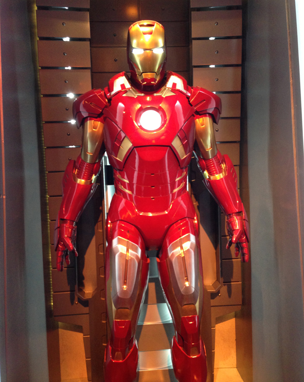 Disneyland Introduces Their First Marvel Exhibit With Iron