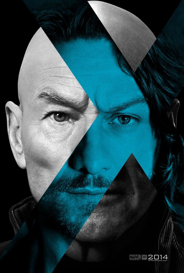X-MEN-DOFP-ProfessorX-mashup-poster