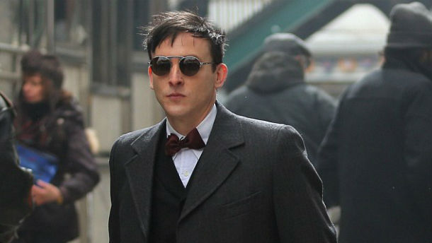 Robin Lord Taylor as Oswald Cobblepot in Gotham. (Photo: Brian Prahl/Splash News)