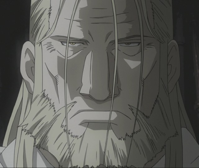 Father Fullmetal Alchemist Lots Of Villains