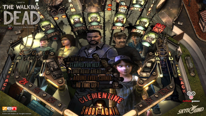 Walking Dead pinball