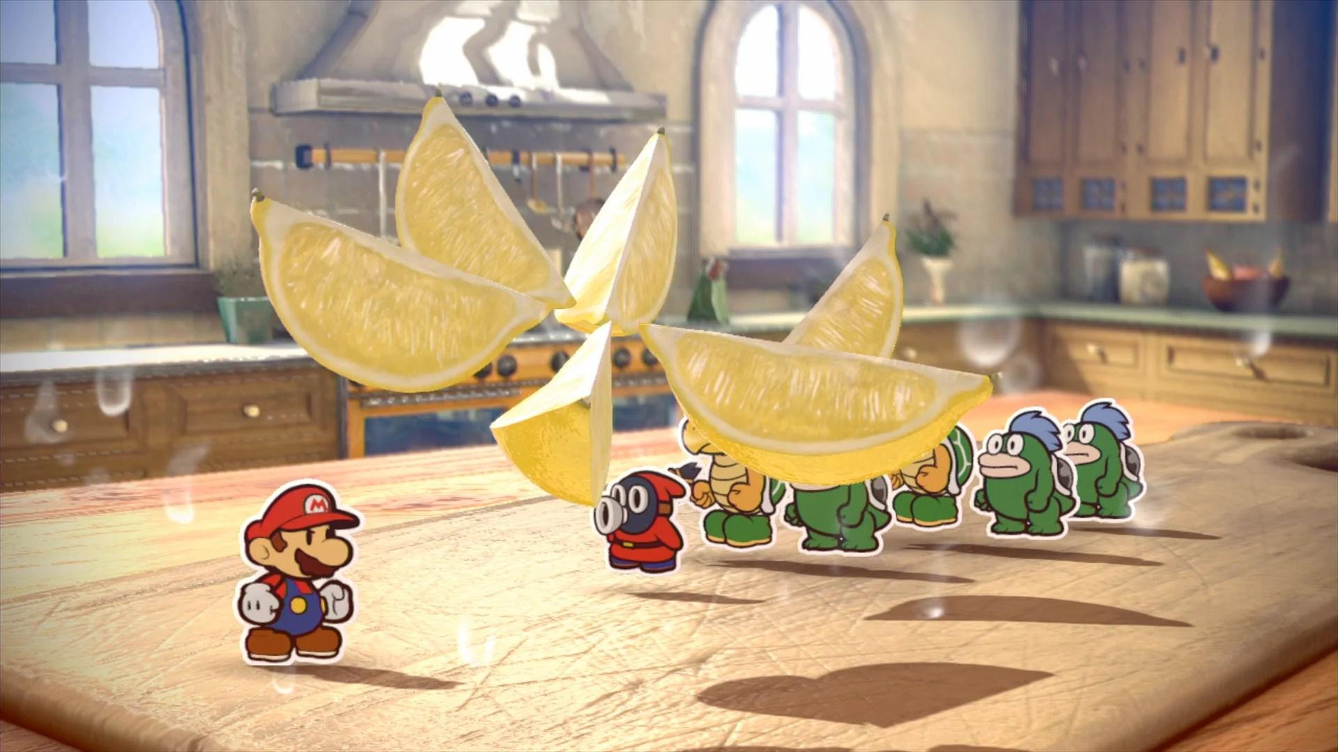 Paper Mario Color Splash Has The Most Realistic Looking Lemons