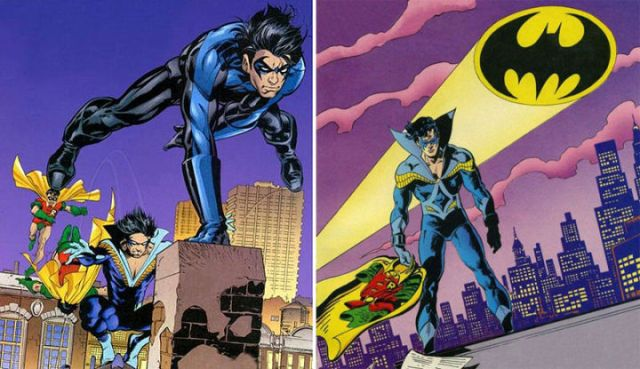 Nightwing's past as Batman's partner has always stayed with him.