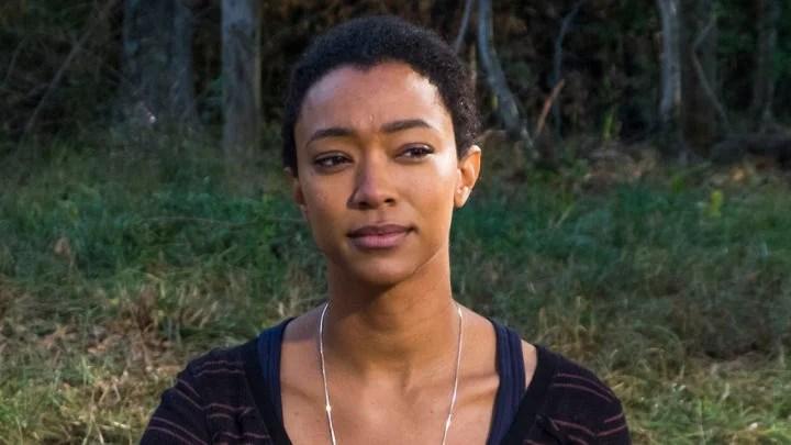 Sonequa Martin-Green as Sasha Williams in The Walking Dead