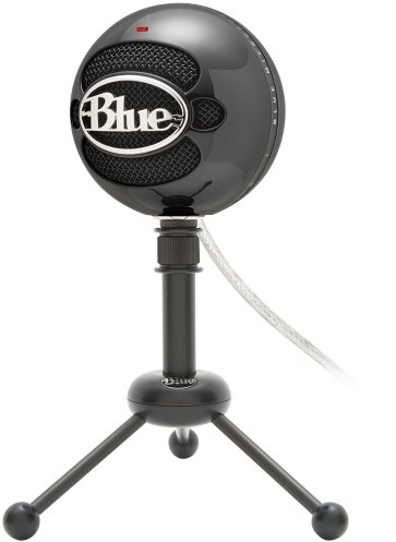 blue snowball ice microphone for online teaching
