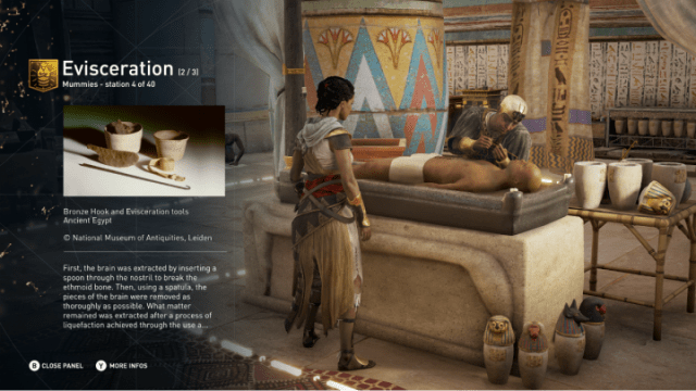 Early next year Ubisoft will add an educational mode to Assassin's Creed Origins called Discovery Tour.