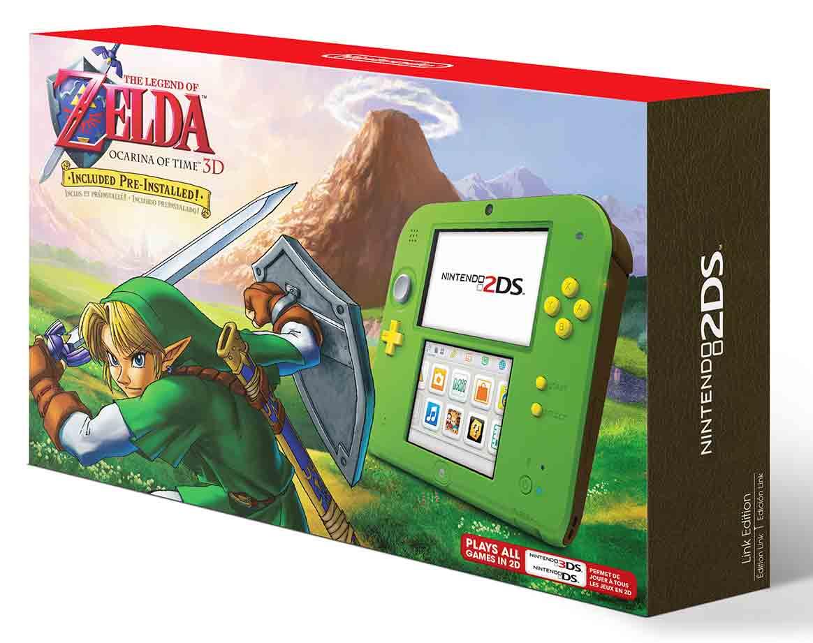 Zelda 2DS Bundle Breath Of The Wild Explorers Edition