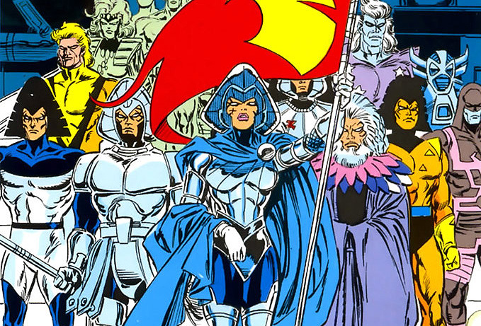 Lilandra and the Shi'ar