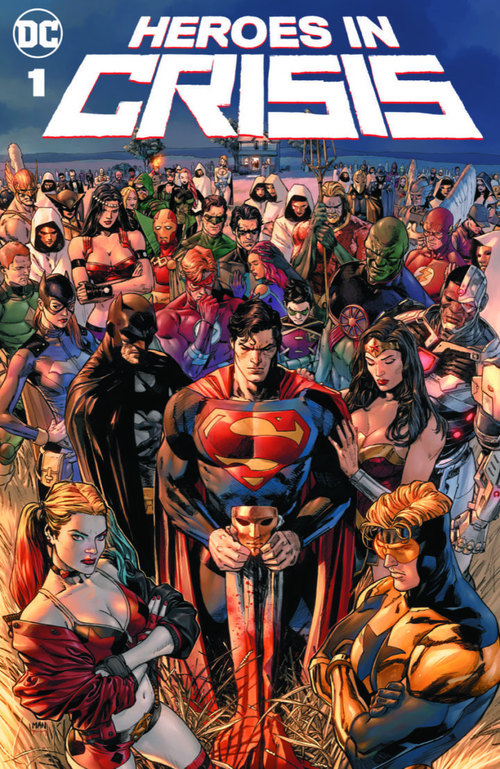 Image result for heroes in crisis tom king