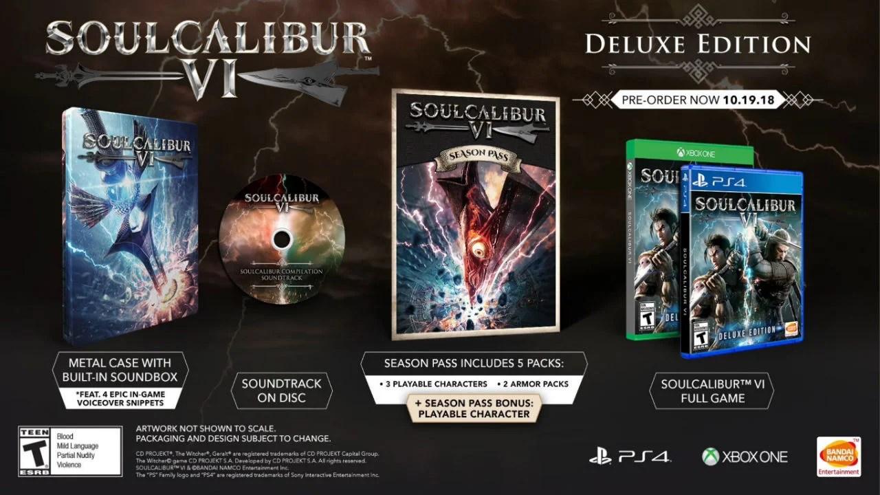 E3 2018 Soulcalibur VI Release Date Collectors Edition
