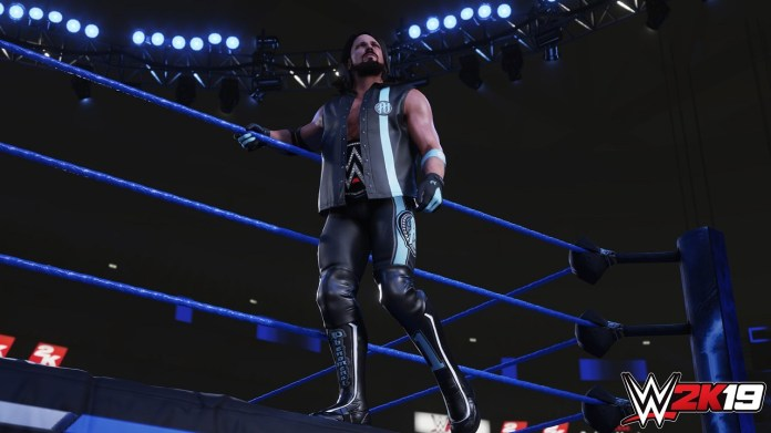 AJ Styles Releases First WWE 2K19 Screenshot... of Himself