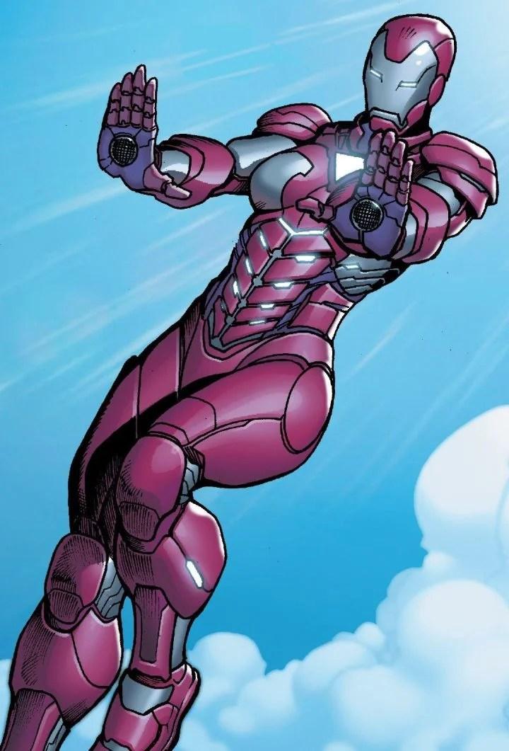 Rescue. (Image Credit: Marvel Comics)