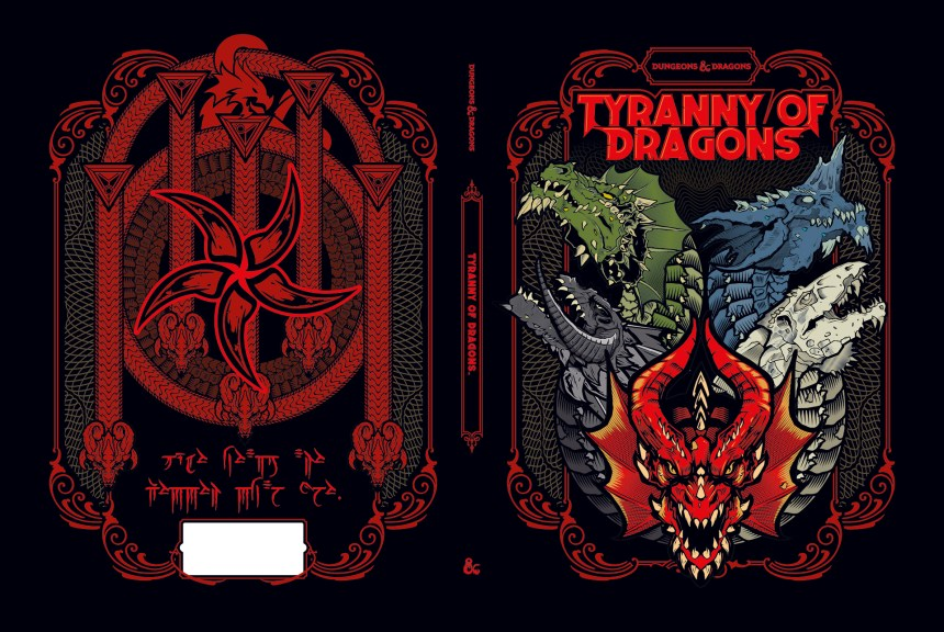 Image result for tyranny of dragons limited edition