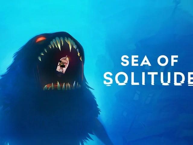 Title card art for Sea of Solitude.