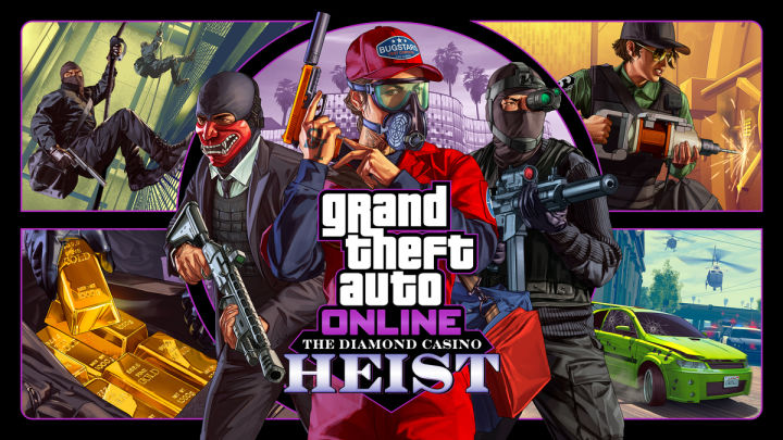 Rockstar anuncia el atraco de GTA Online Diamond Casino 11