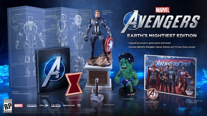 avengers-earths-mightiest-edition Two New Editions Announced for Marvel's Avengers | IGN