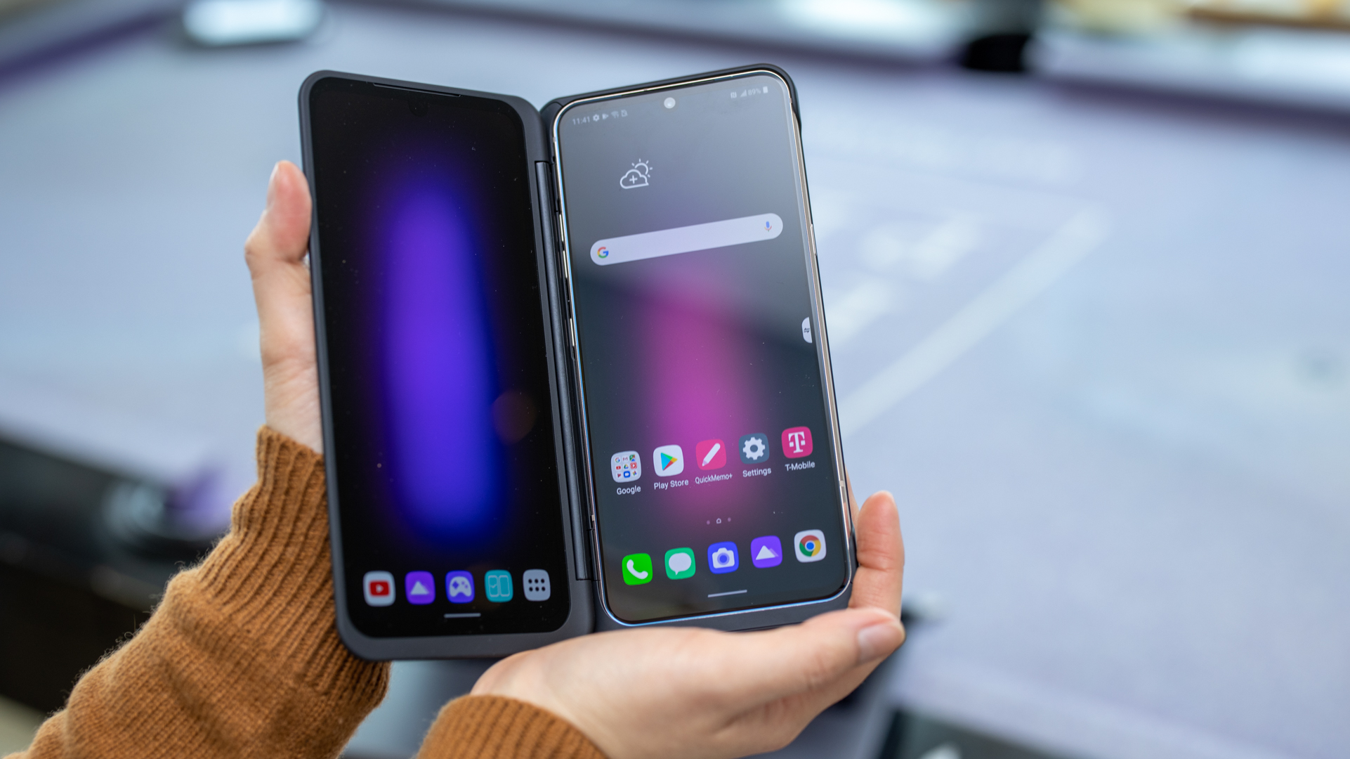 The LG V60 ThinQ 5G Aims to Be the Biggest Budget Phone - IGN