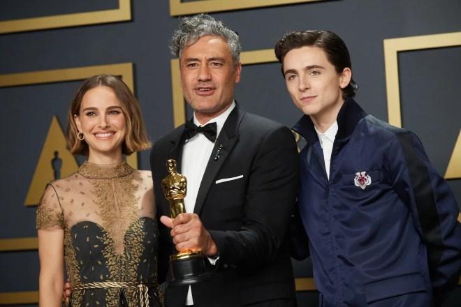 rsz_92_pr_0021 Taika Waititi Celebrates Oscar Win With Thor 4's Natalie Portman | IGN