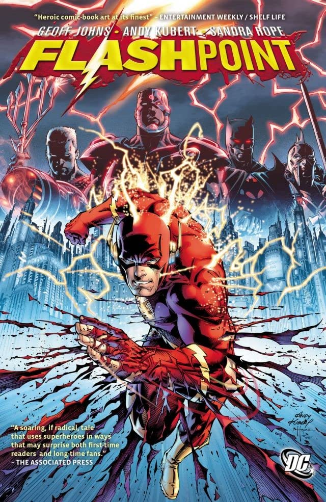 flashpoint-comic 25 Best Bingeable Comics on ComiXology Unlimited | IGN