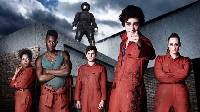 misfits Binge It! Misfits Will Fill That Dysfunctional Superhero Hole in Your Heart | IGN
