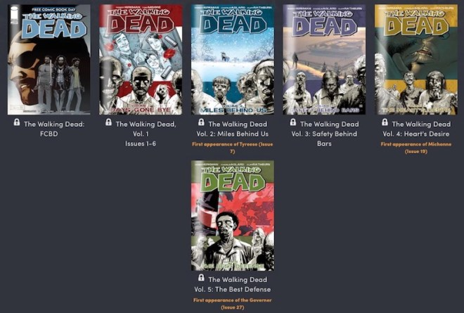 walking-dead-humble-bundle-tier-1 Last Chance: Get the Entire Walking Dead Comic Series for $18 | IGN
