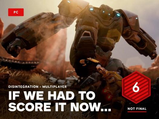 Disintegration Multiplayer Review in Progress 2