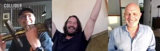 Keanu Reeves and Constantine Team Reunite, Discuss Movie Sequel That Never Happened | Comic-Con 2020 2
