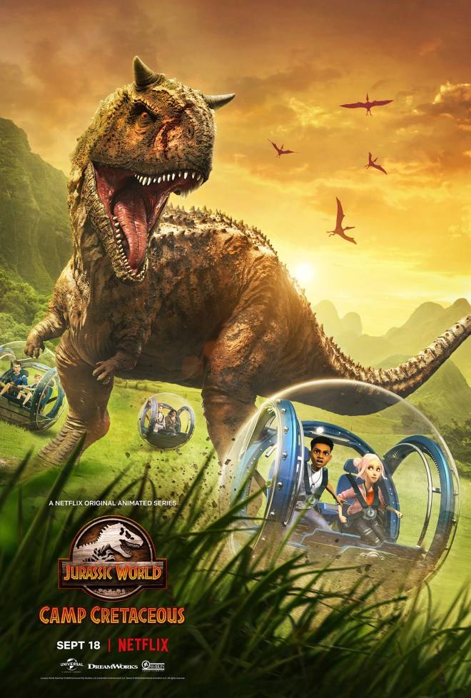 Jurassic-World-Camp-Cretaceous-Poster Check Out the Latest Trailer and Poster for Jurassic World: Camp Cretaceous | IGN