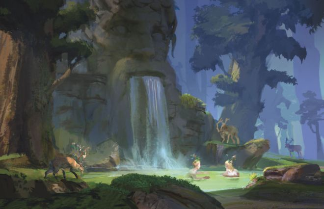 ENVIRONMENT-MAGICAL-SPRING-720x465 D&D: Get an Inside Look at Tasha's Cauldron of Everything | IGN