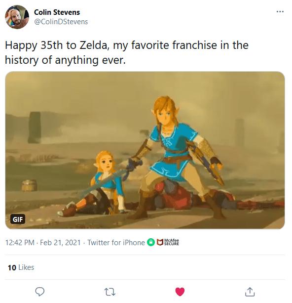Screenshot_2021-02-22-Colin-Stevens-on-Twitter It Felt Like Everyone Celebrated Zelda's 35th Anniversary Except Nintendo   IGN