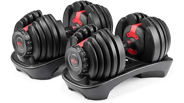 bowflexdumbbells Deals: Bowflex SelectTech 552 Adjustable Dumbbells Back in Stock on Amazon | IGN