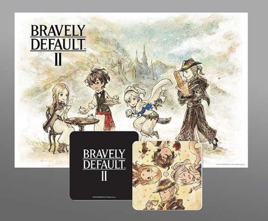 bravely-default-2-placemat-coasters Out Soon: Bravely Default 2 Is Up for Preorder | IGN