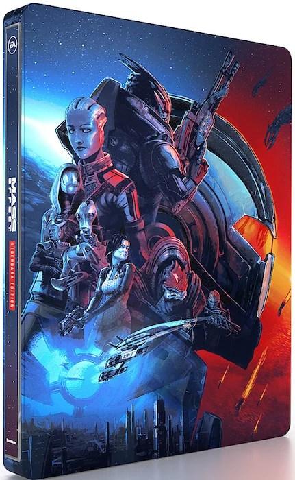 mass-effect-legendary-edition-steelbook-best-buy Mass Effect Legendary Edition - Here's What Comes in Each Edition   IGN