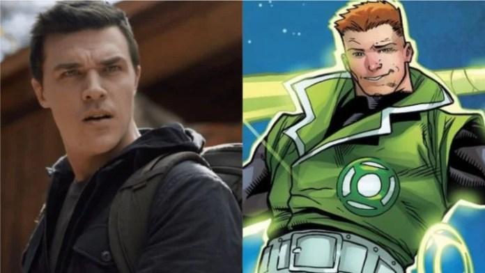 Green Lantern Finn Wittrock Guy Gardner