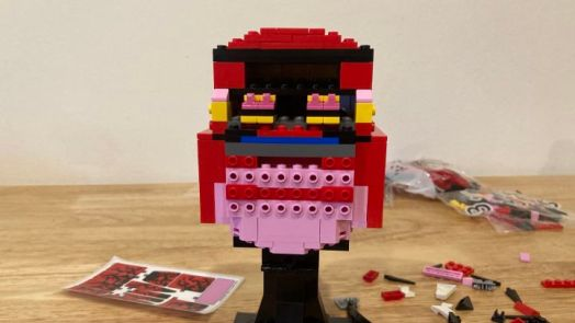 We Build The LEGO Marvel Carnage Head, Which Oozes Symbiotic Terror 2