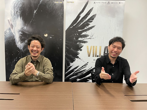 Tsuyoshi Kanda (left) and Morimasa Sato.