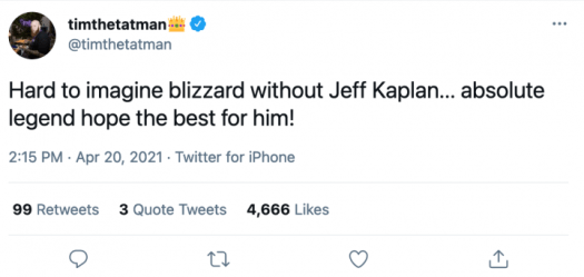 """Blizzard Developers and Fans React to Jeff Kaplan's Departure From Overwatch: """"I'm in Pure Disbelief"""" 5"""