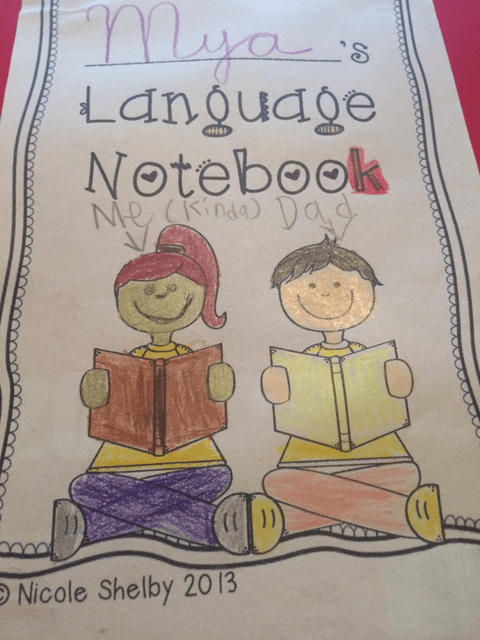 ELA Interactive Notebooks: Language